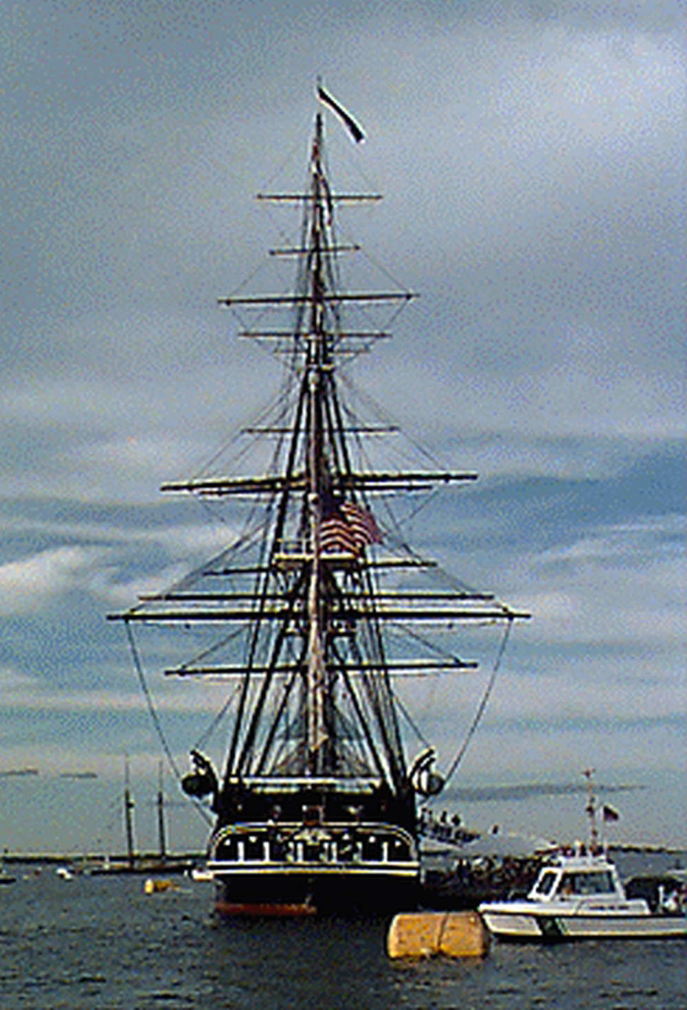 USS Constitution Sets Sail