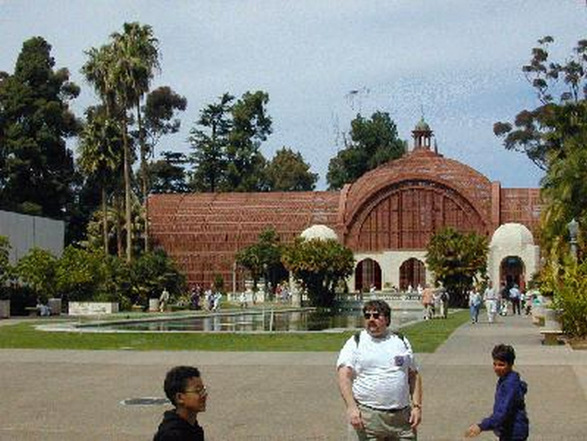 Balboa Park, Botnical Building