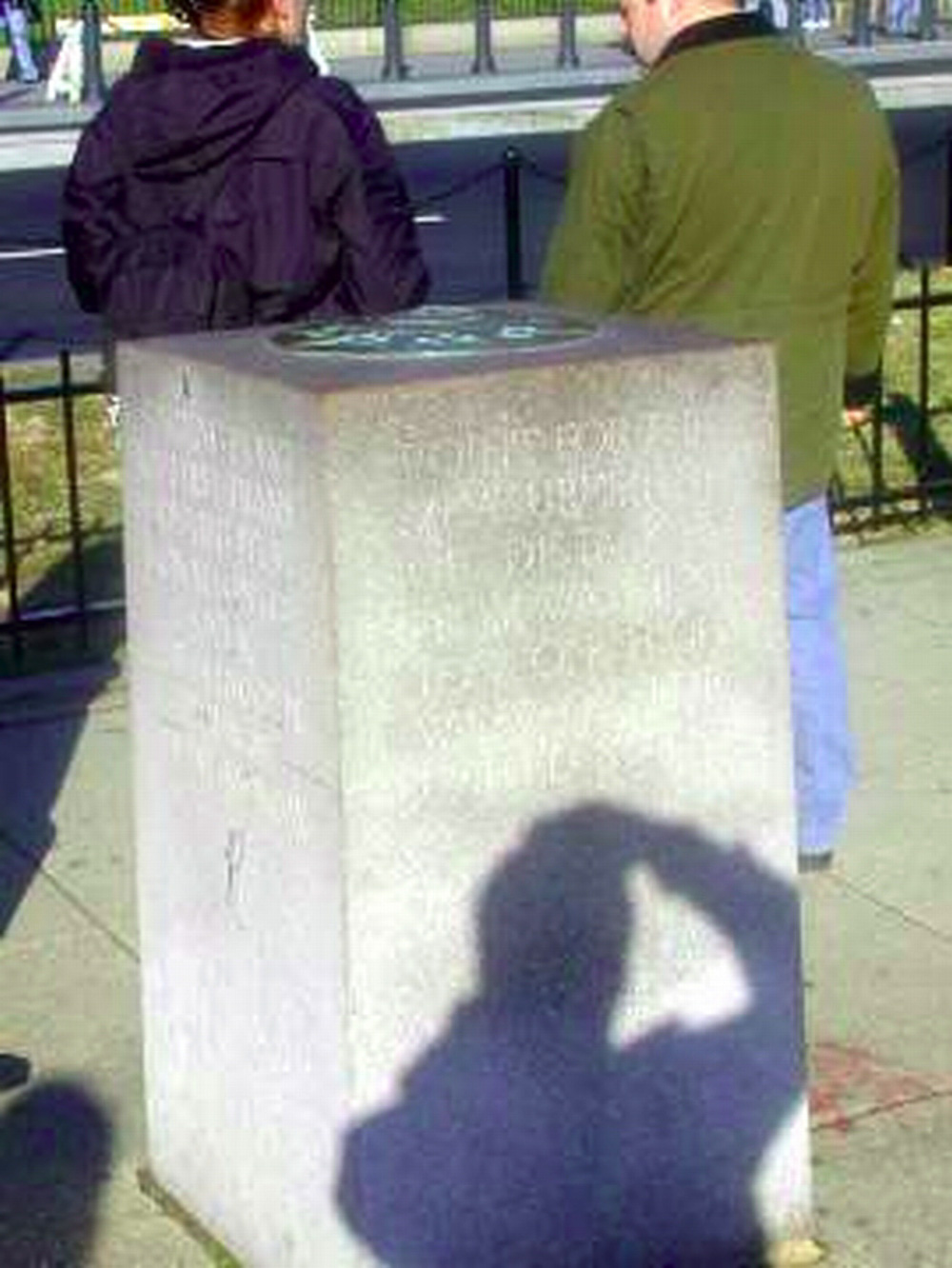 Washington DC, Zero milestone