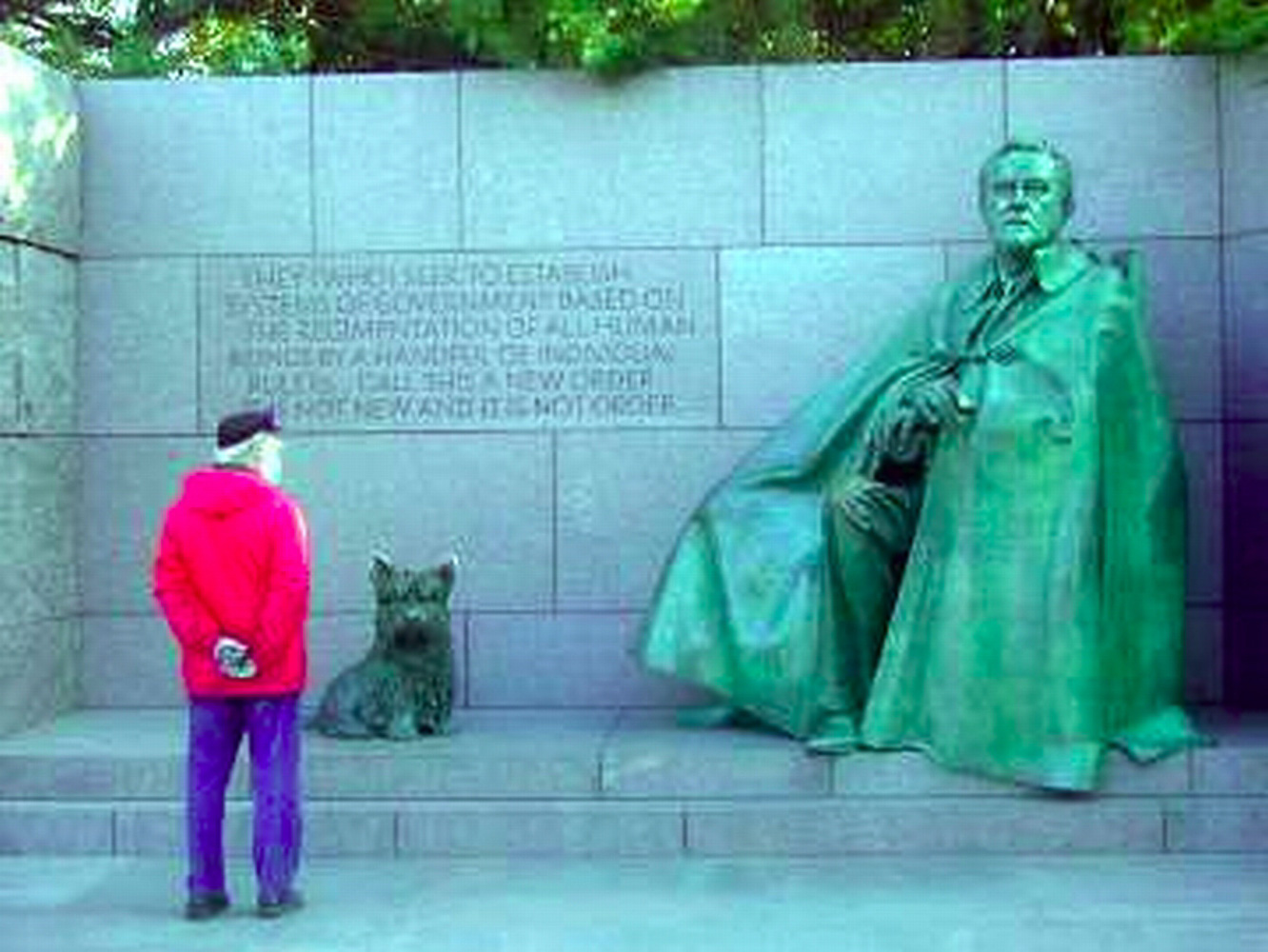 Washington DC, FDR Memorial