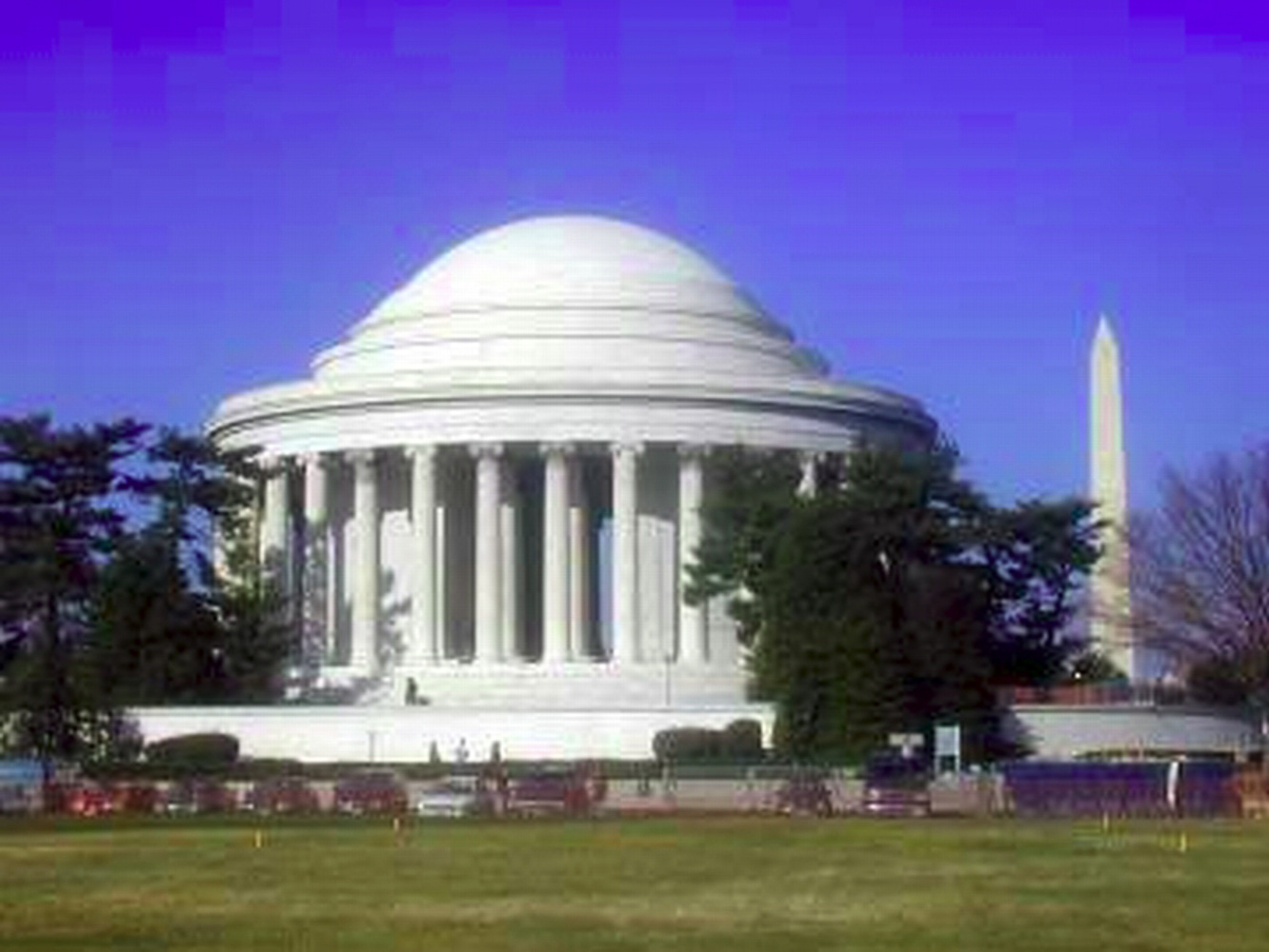 Washington DC, Washington monument, Jeffereson memorial