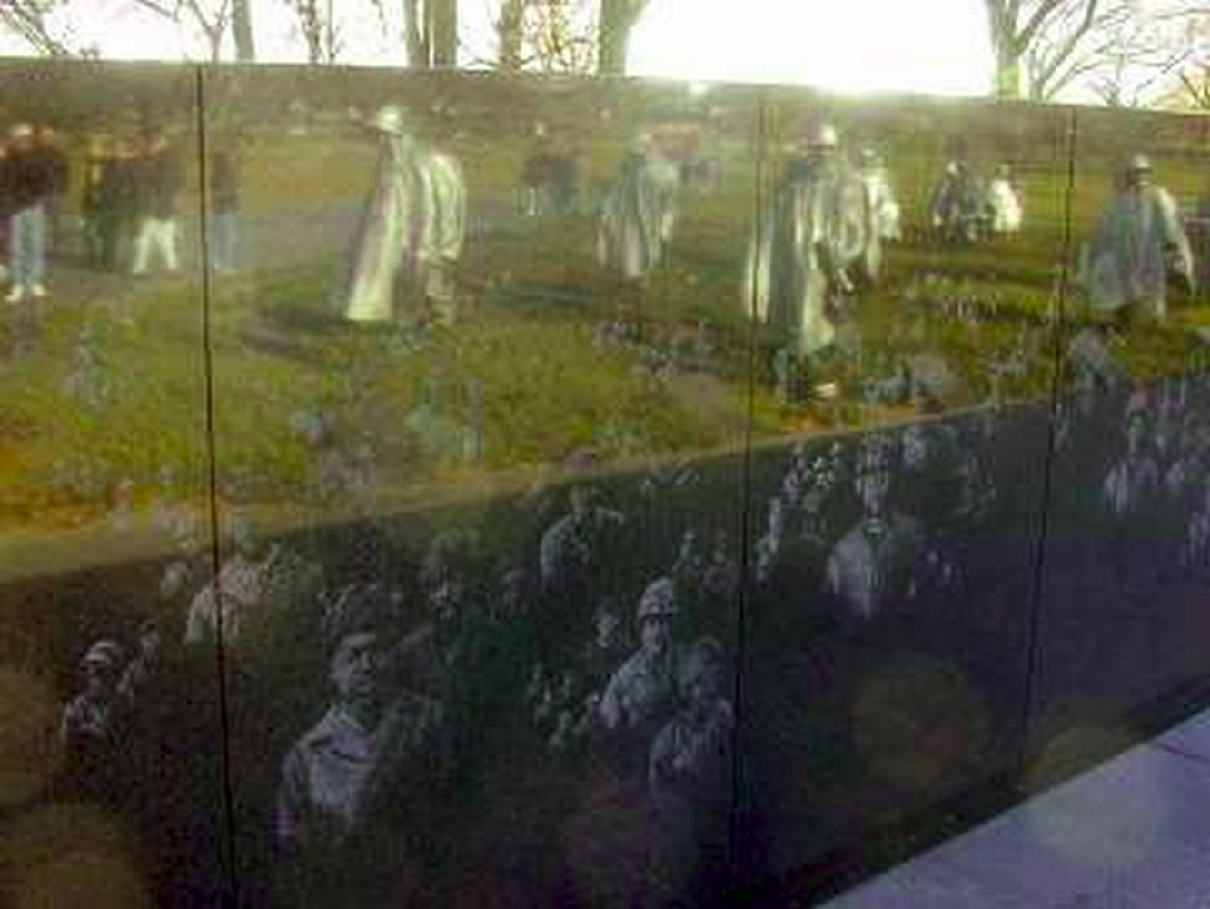 Washington DC, Korean War memorial