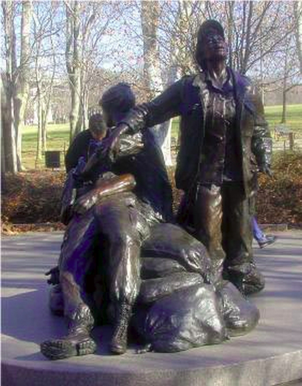 Washington DC, Vietnam War Women's memorial