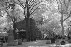 New York City, St Paul's church cemetery