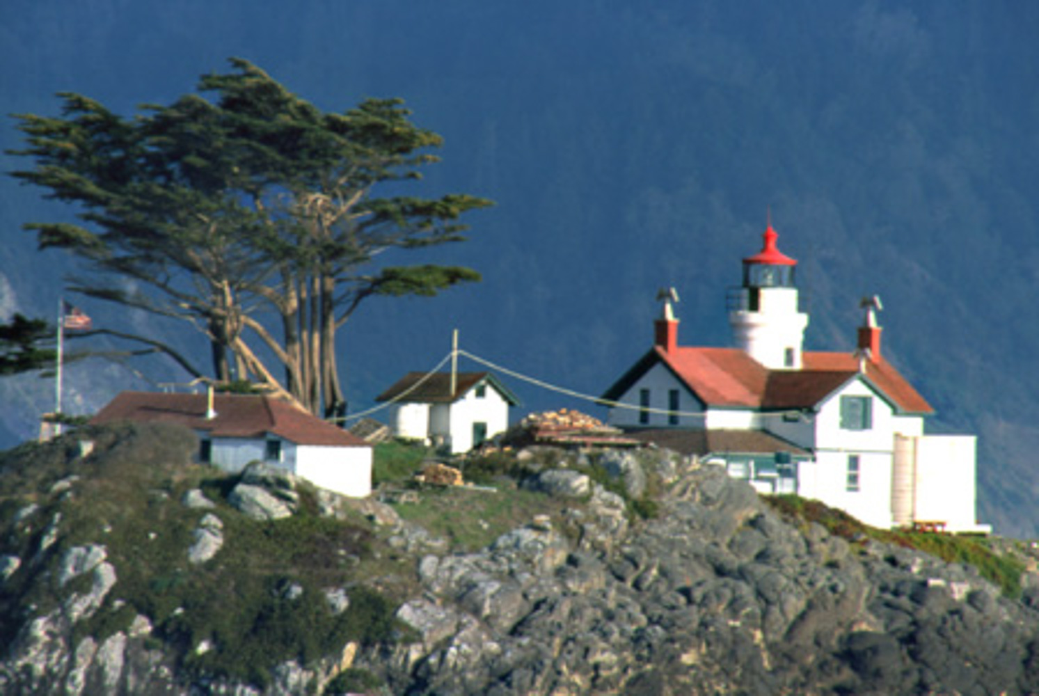 Crescent City, Battery Point lighthouse