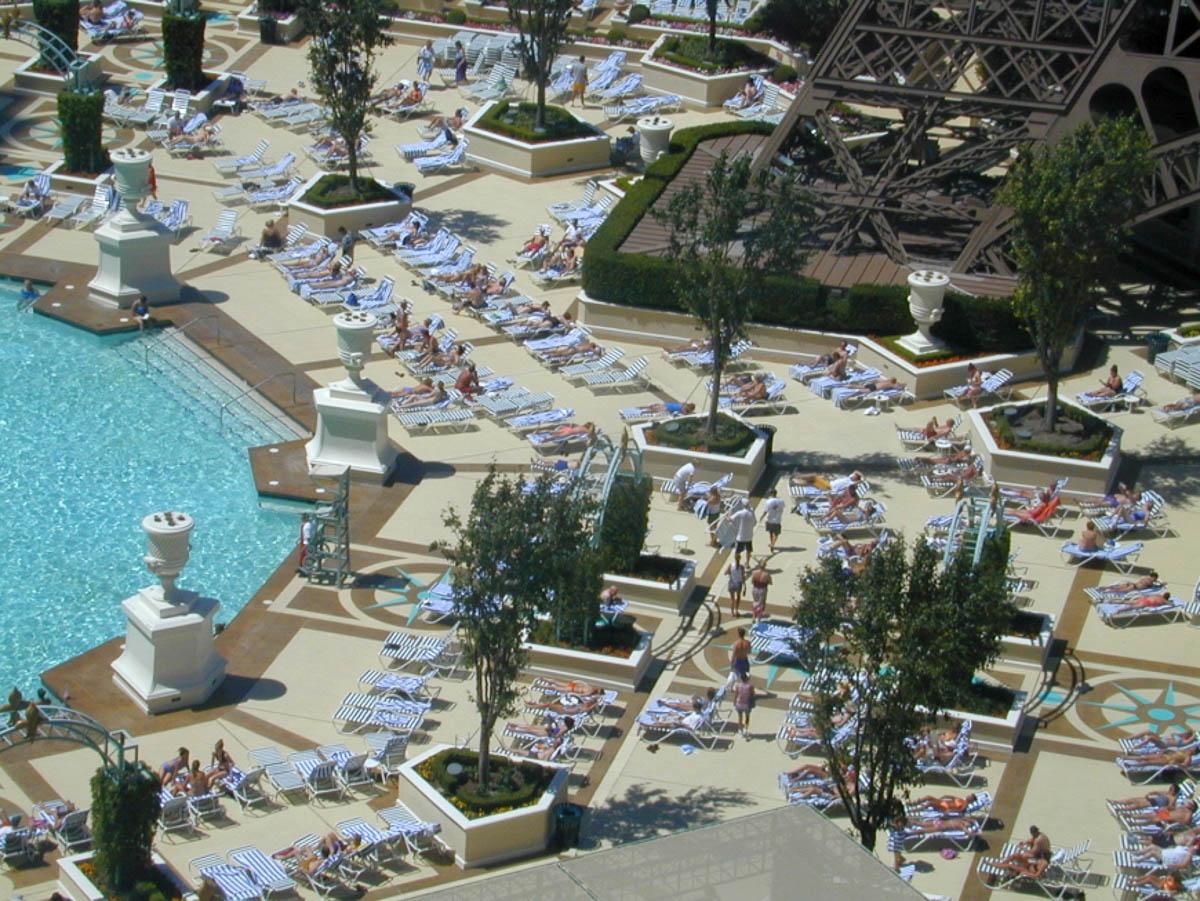 Las Vegas, view from Paris hotel