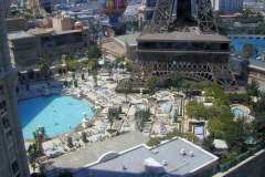 Las Vegas, view from Paris hotel