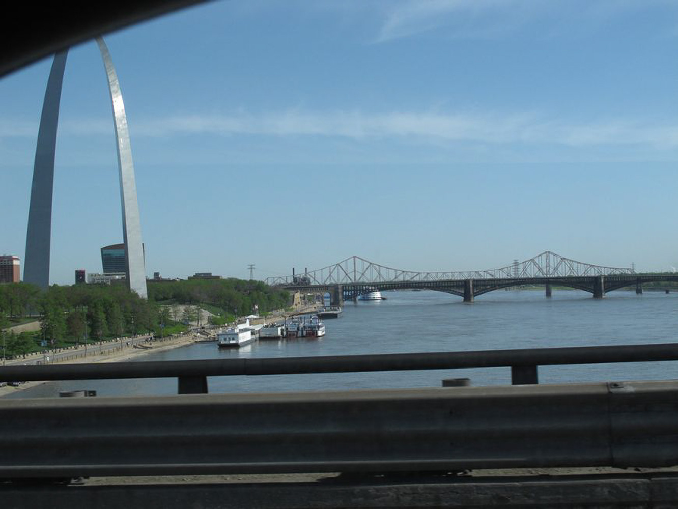 Driving Route 66, back in St Louis and the Arch