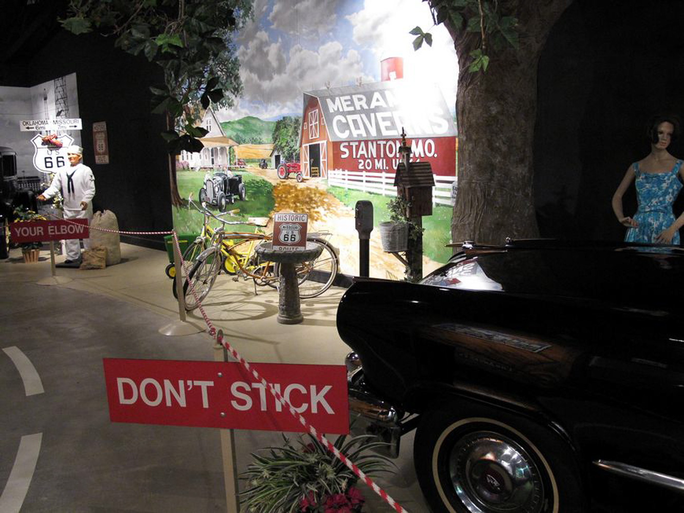 Driving Route 66, National Route 66 museum in Elk City OK