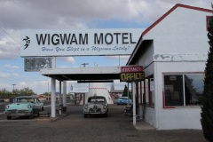 Driving Route 66, Holbrook AZ Wigwam Motel