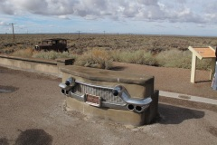 Driving Route 66, Petrified Forest
