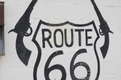 Driving Route 66, Two Guns