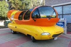Oscr Mayer Wienermobile in San Jose