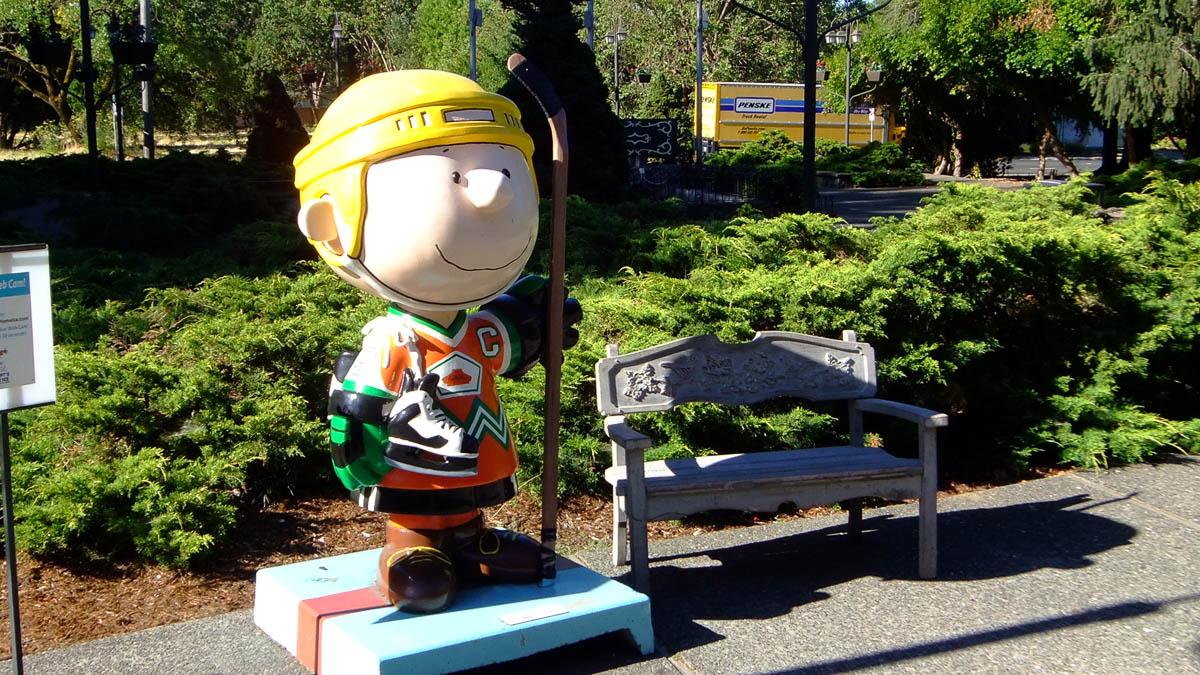 Redwood Empire Ice Arena - Snoopy's home ice