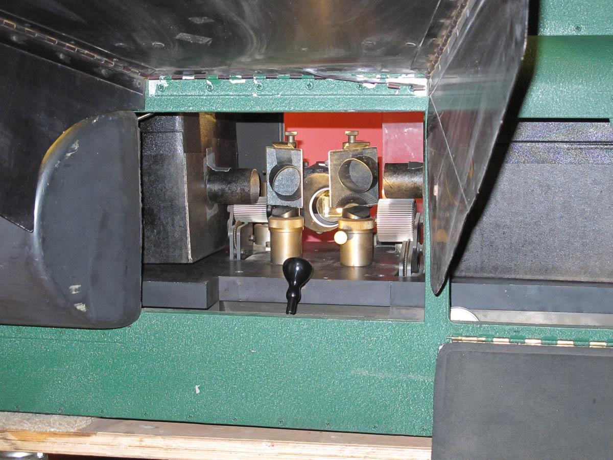 50's era 3D projector