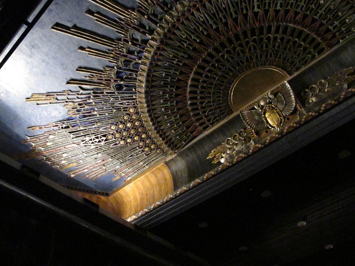 Interior of Grauman's Egyptian Theatre
