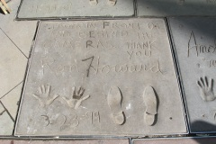 Grauman's Chinese Theatre footprints Ron Howard