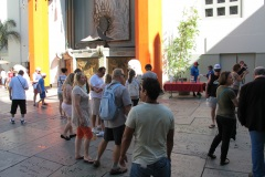 Grauman's Chinese Theatre and footprints in the courtyard