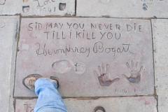 Grauman's Chinese Theatre footprints Humphrey Bogart