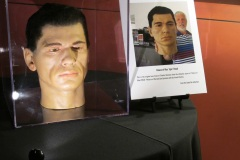 Igor's Head (Charles Bronson) from the 3d moview House of Wax