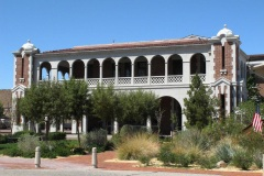 , Barstow Harvey House and train station that is also the Route 66 Mother Road Museum