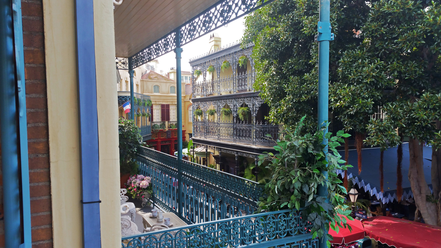 Views from the Dream Suite in New Orlean's square