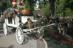 Haunted Mansion decked out for Halloween