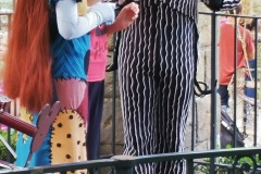 Jack Skellington and Salley from Nightmare before Christmas