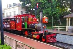 Disneyland train has arrived