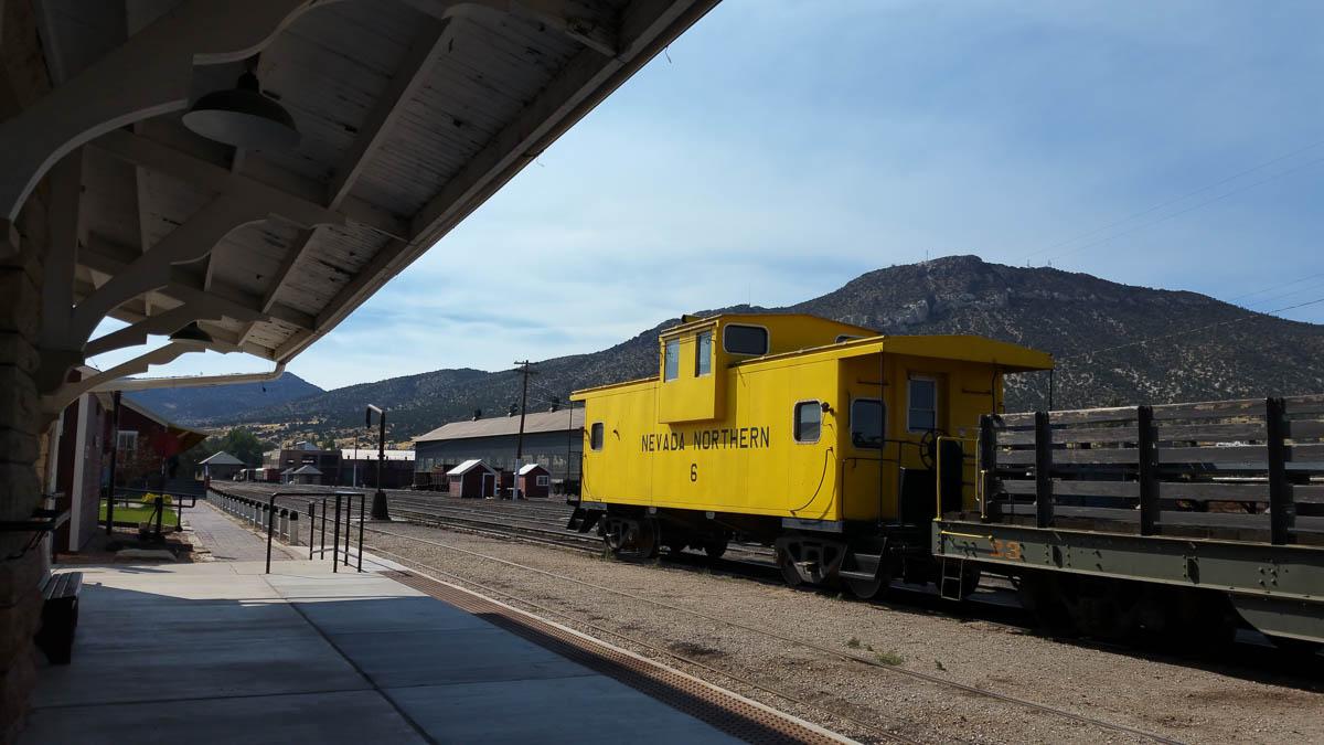Nevada Northern Railway Museum in Ely Nevada
