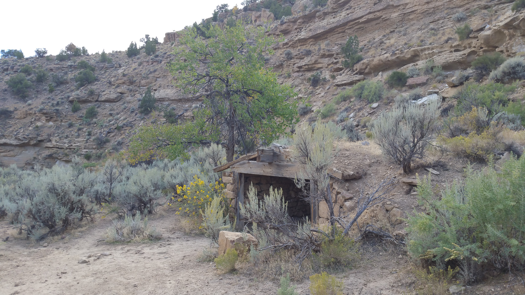 Sego canyon ghost town