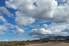 Clouds over the Mojave