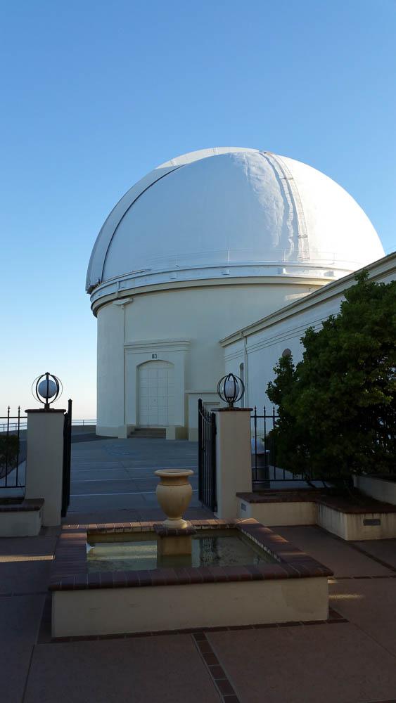 Lick Observatory on Mount Hamilton