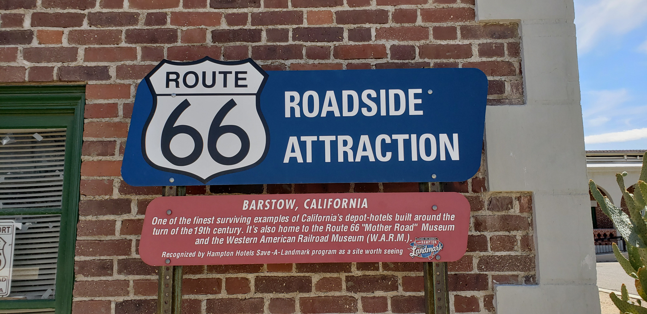 Barstow  Route 66 Mother Road Museum