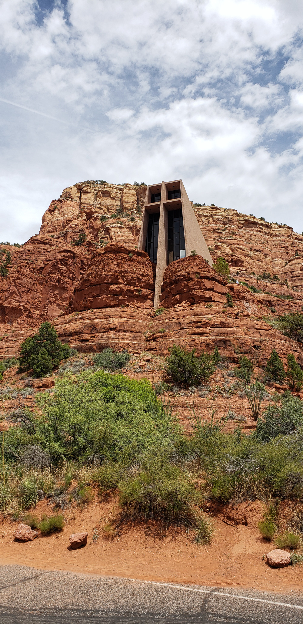 Chapel of the Holy Cross in Sedona Arizona