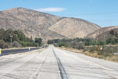 Along Route 66 in Califironia