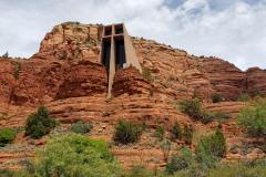 Chapel of the Holy Cross in Sedona Arizona