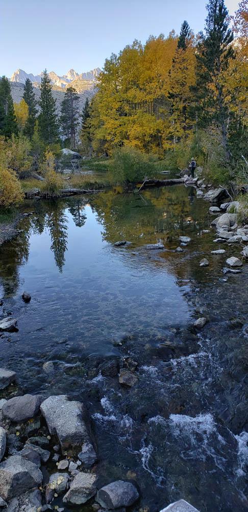 Lake Sabrina area near Bishop