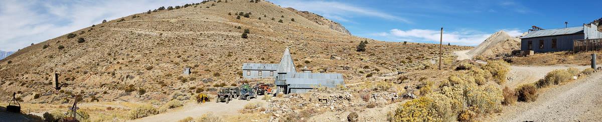 Cerro Gordo mining town