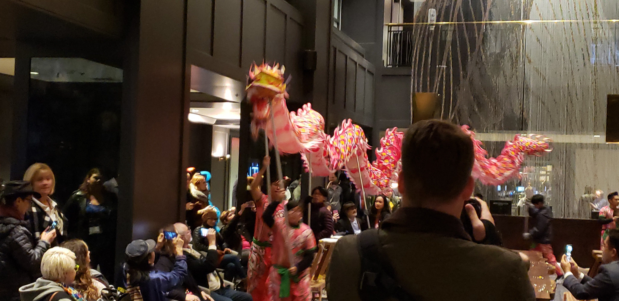 Portland Oregon Chinese dancer presentation