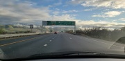 Highway 101 south of San Jose