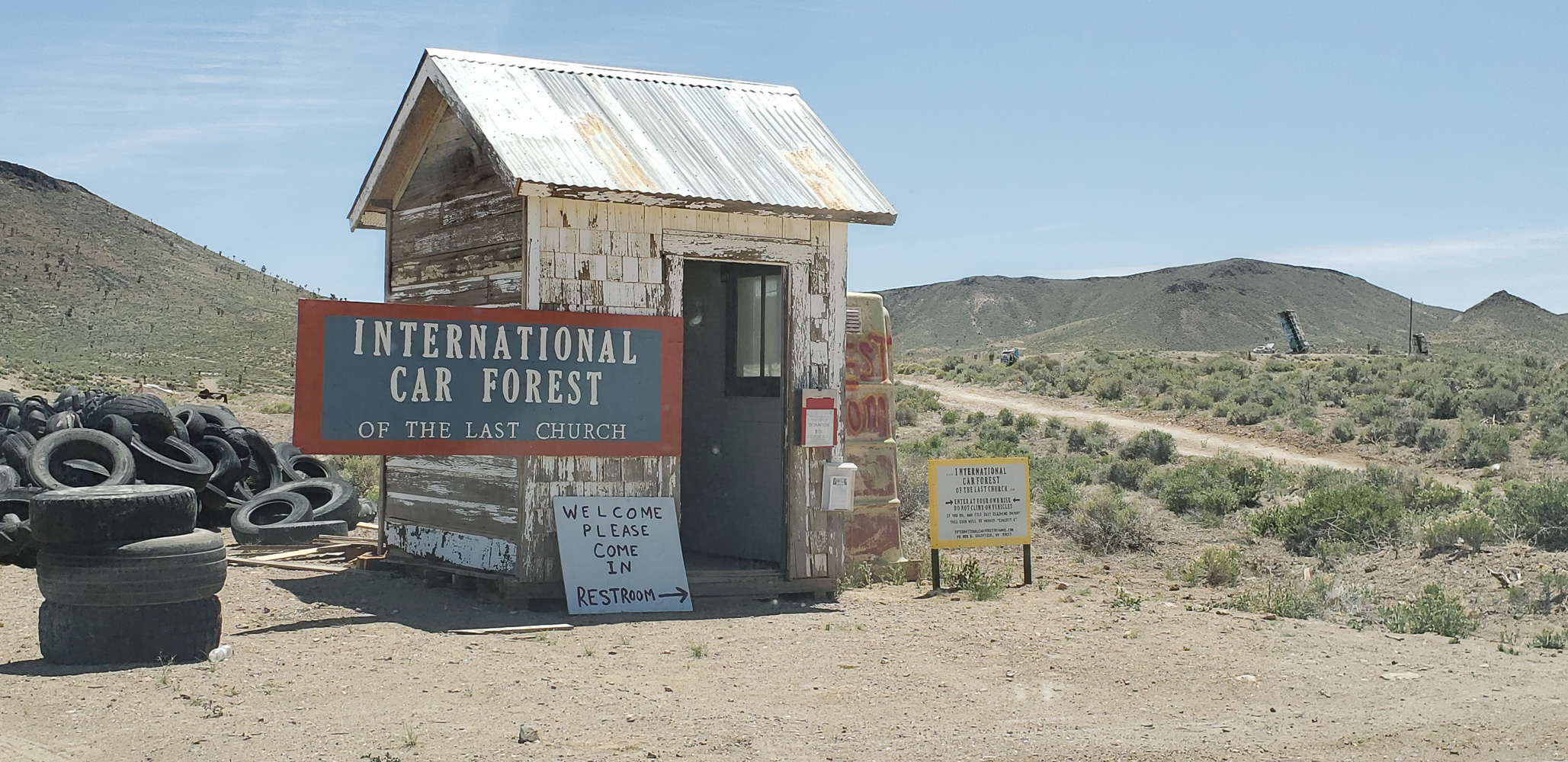 Goldfield Nevada International Car Forest