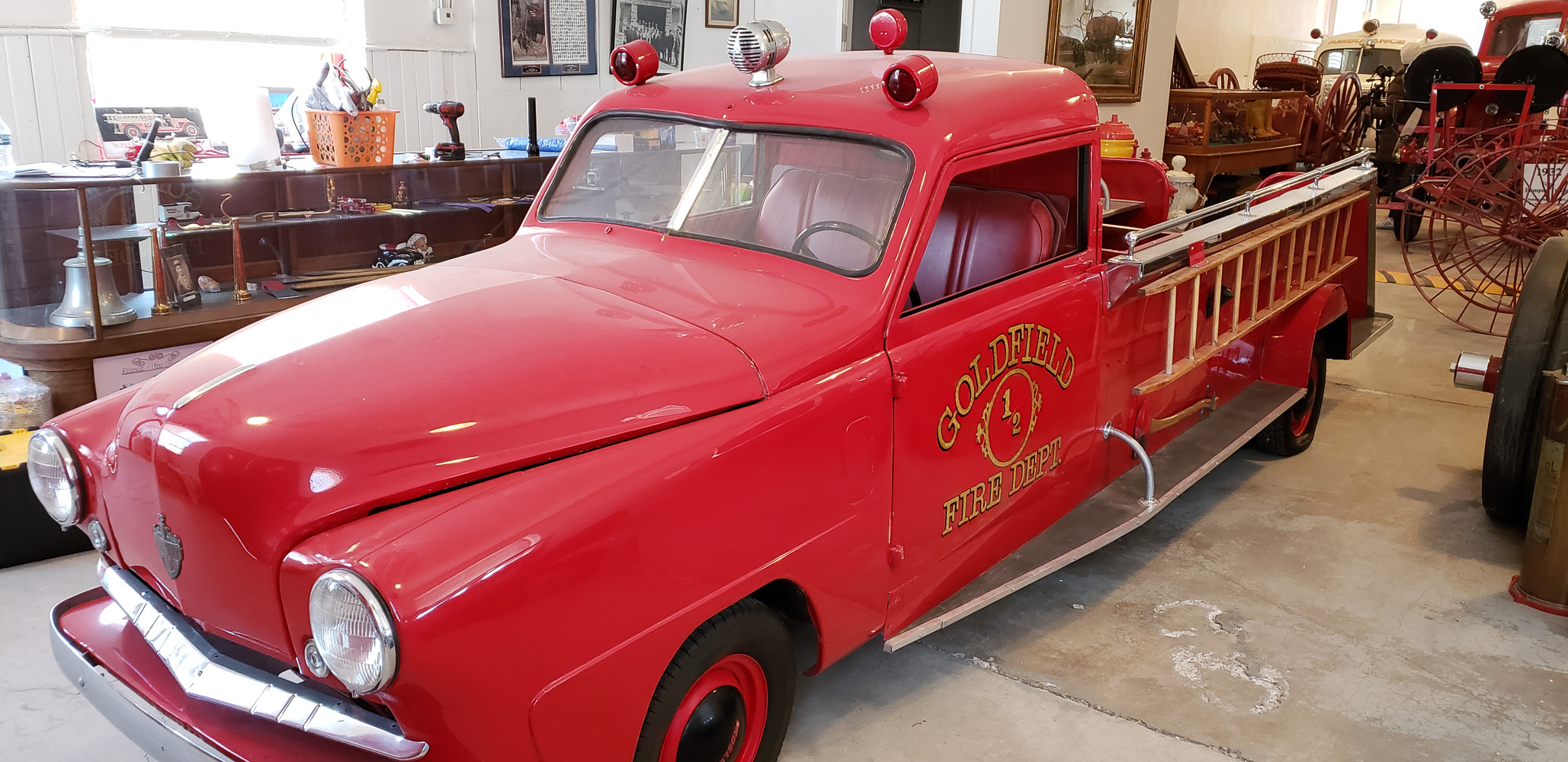 Goldfield Nevada Fire Station #1 Museum