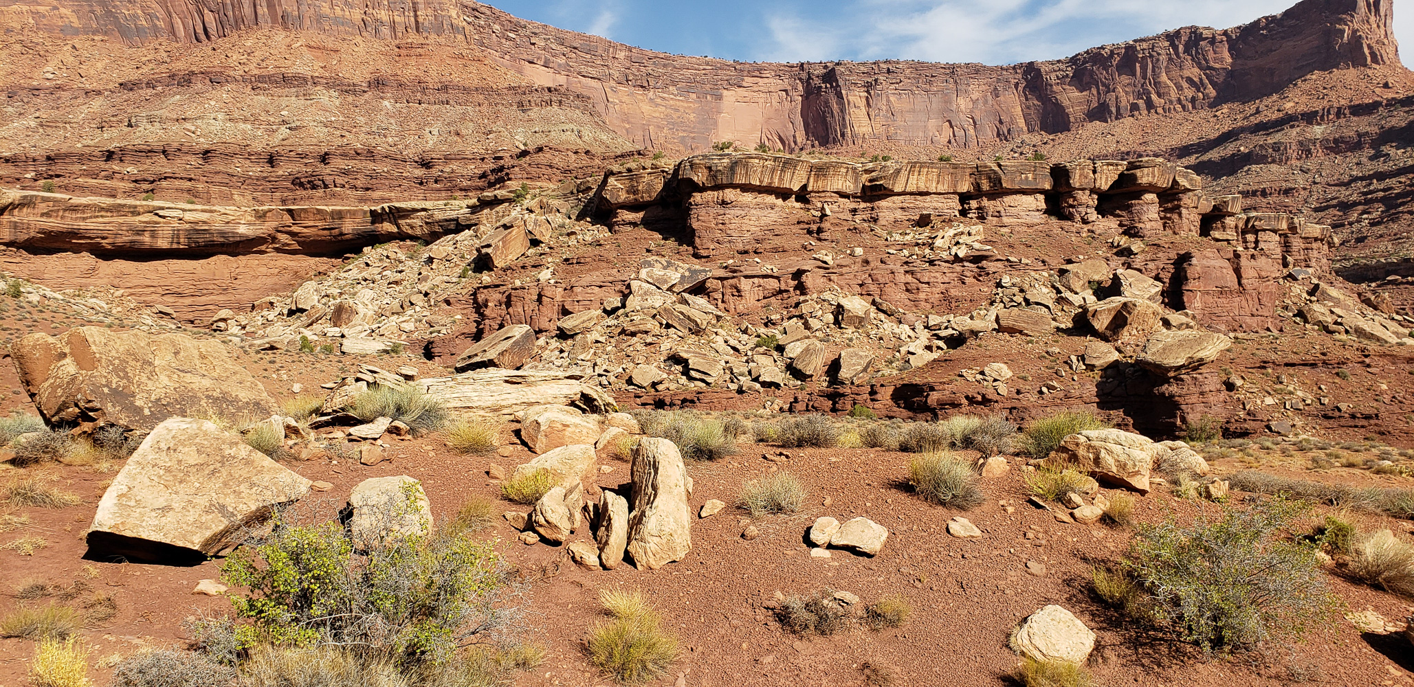 Shafer Canyon in the Islands of the Sky area of Canyonlands National Park