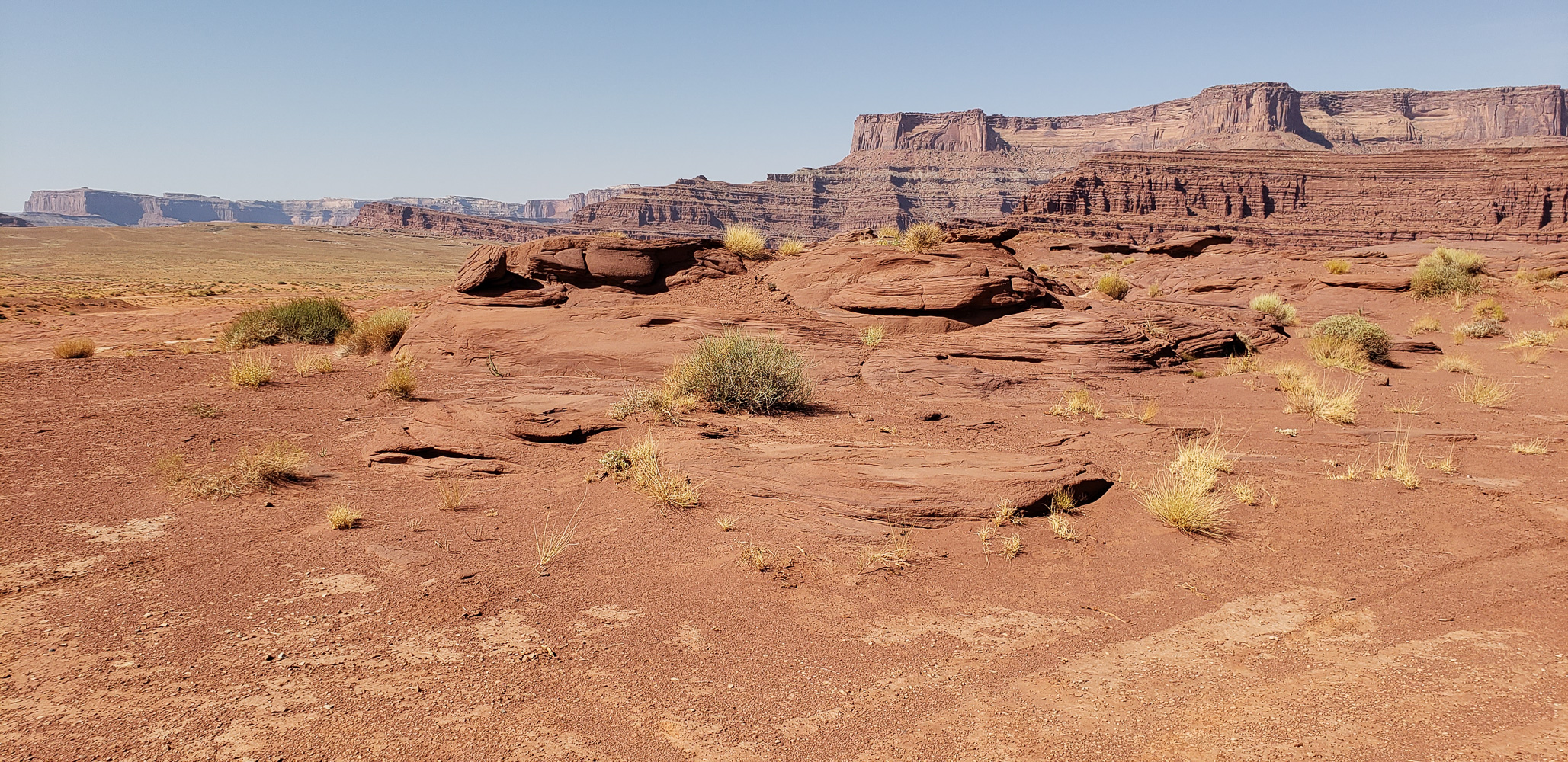 Potash road in Islands of the Sky portion of Canyonlands National Park
