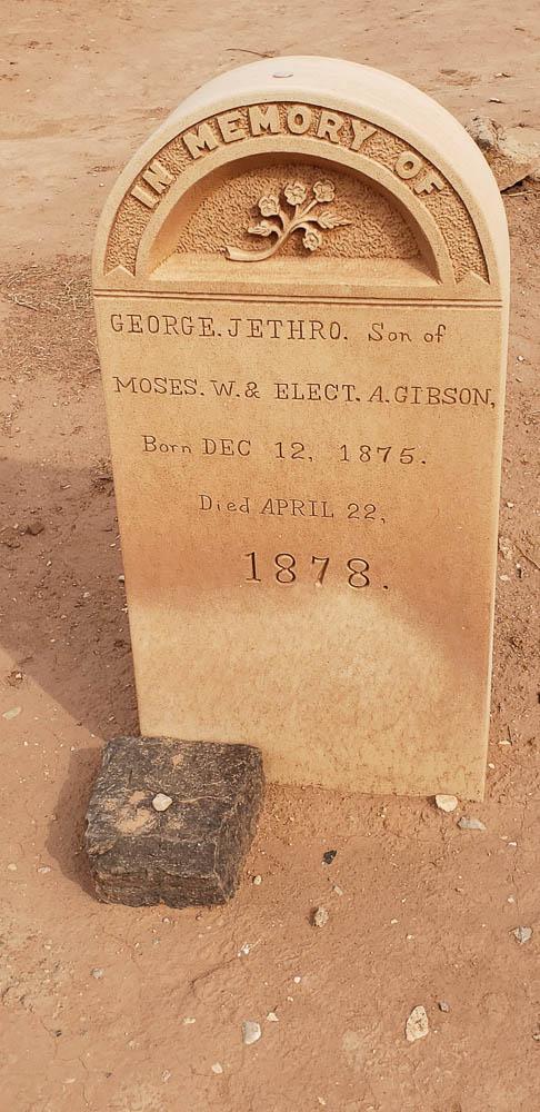 Grafton Utah ghost town cemetery