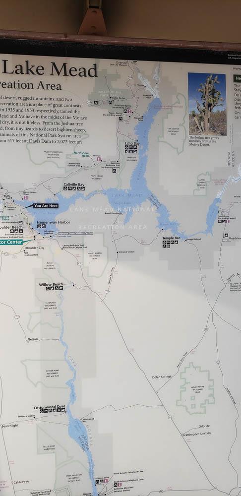 Lake Meade area