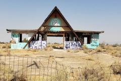 Abandoned building near Newberry Srings California