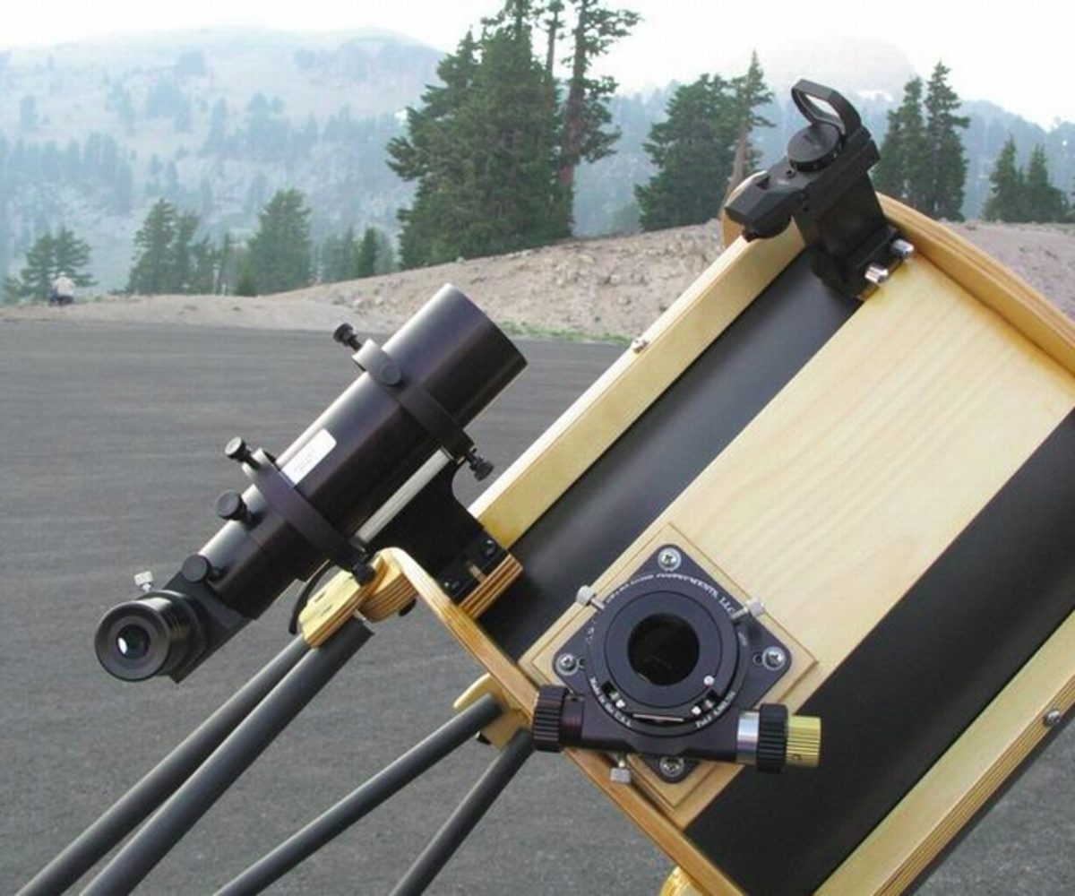 Modifications to my 12.5″ Dobsonian AstroSystems Telekit Telescope, May 2008
