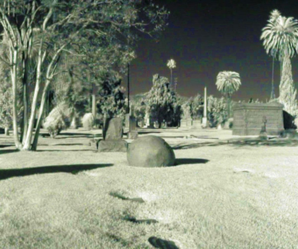Hollywood Forever Cemetery, Hollywood CA, Nov 2003
